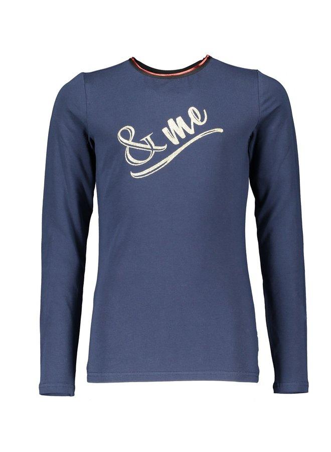 Kus Shirt artwork Navy Blazer