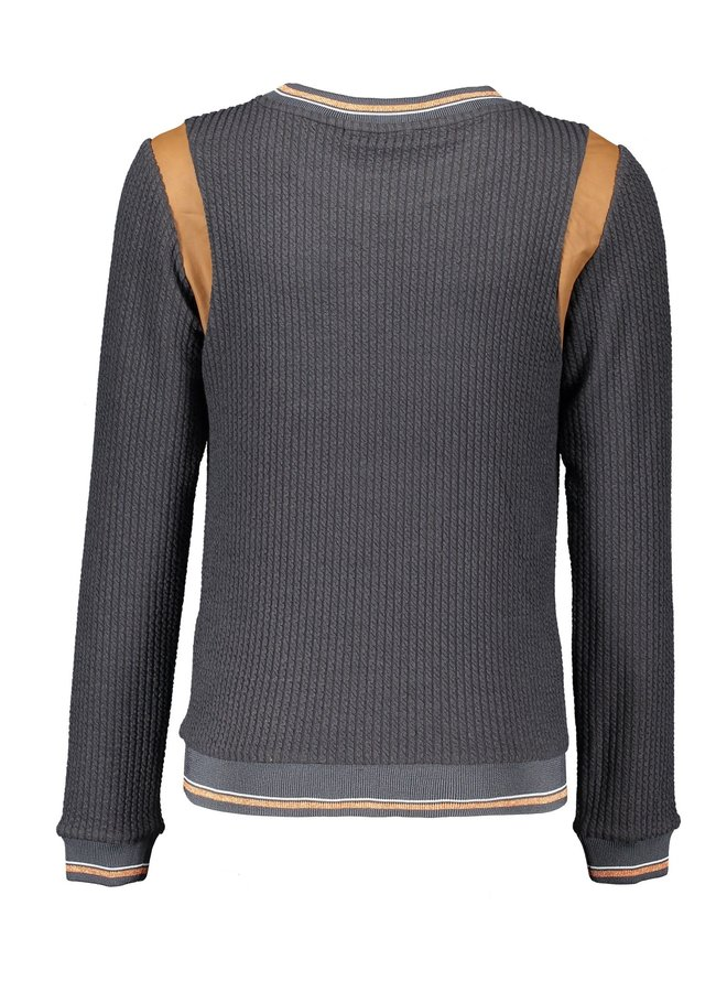 Kynu curly rib Sweater