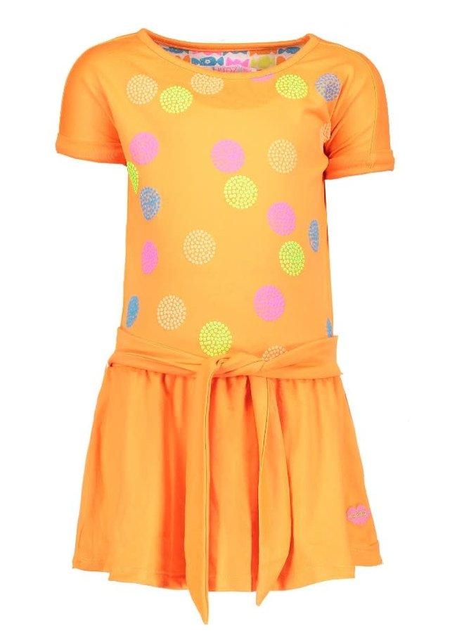Jurk Neon Oranje