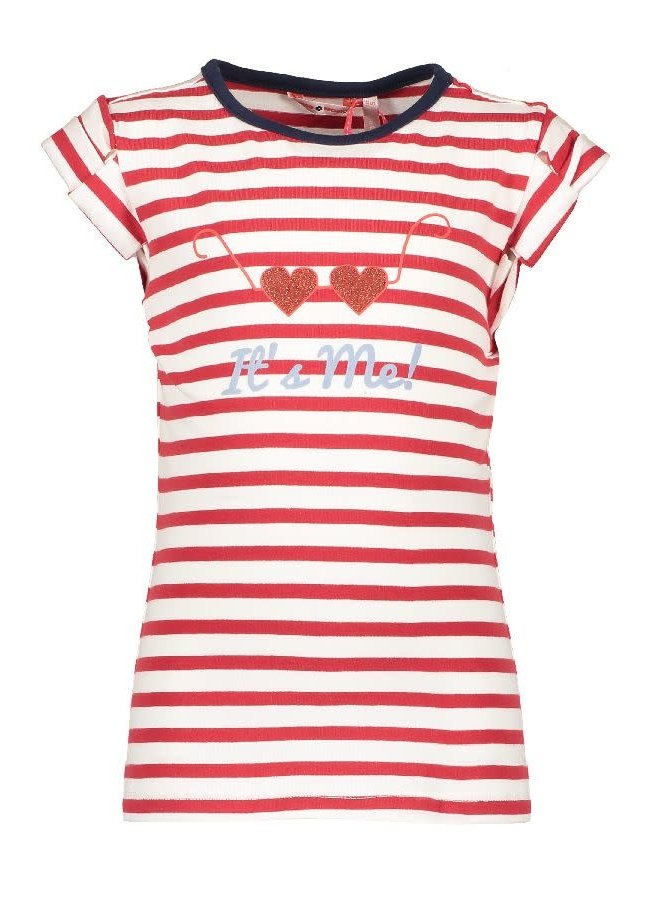 Kussy Shirt It's Me Stripe Red