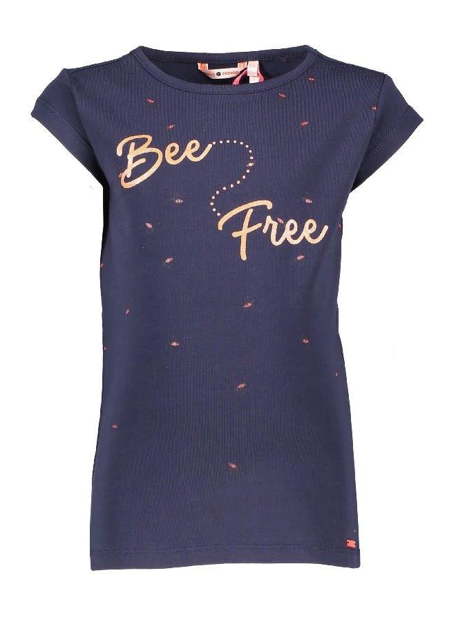Kussy Shirt Free Bees Navy Blazer