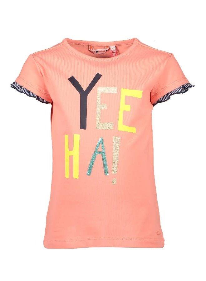 Kiss Shirt Yee Ha Soft Coral