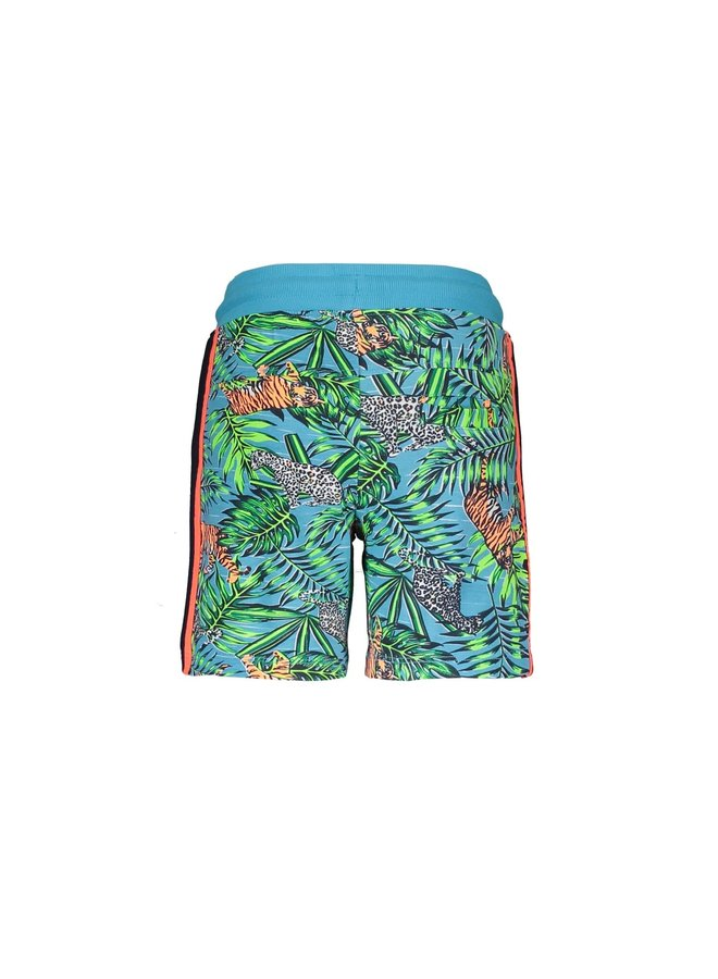 Baby boys short with jungle aop