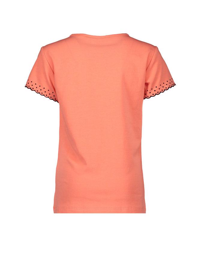 Kaya T-shirt Coral
