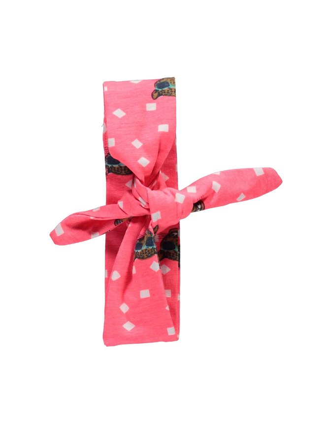 Haarband Tiger Dots Pink