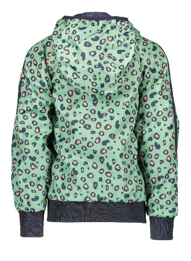 Bizz Jacket with Leopard