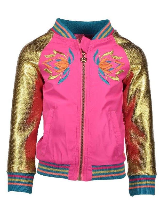 Baseball Vest Neon Pink