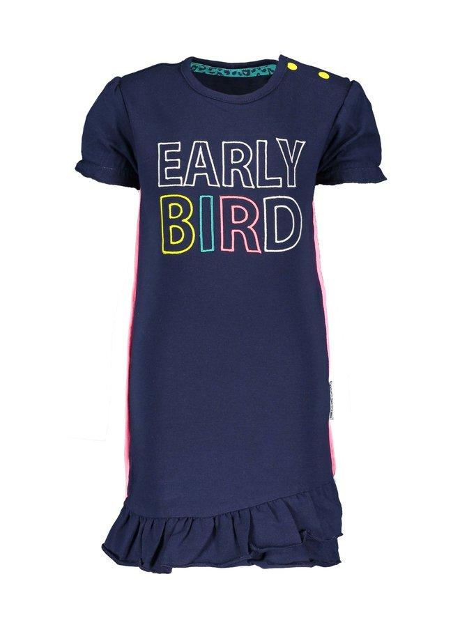 Jurk Early Bird Space Blue