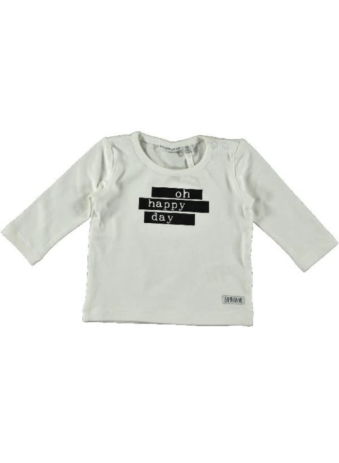Shirt Oh Happy Day Offwhite