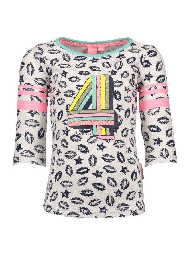 Shirt 4 Beige/Navy