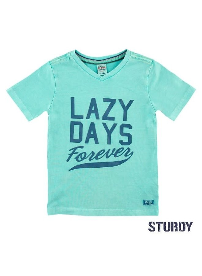 Island Shirt Lazy Days  Mint