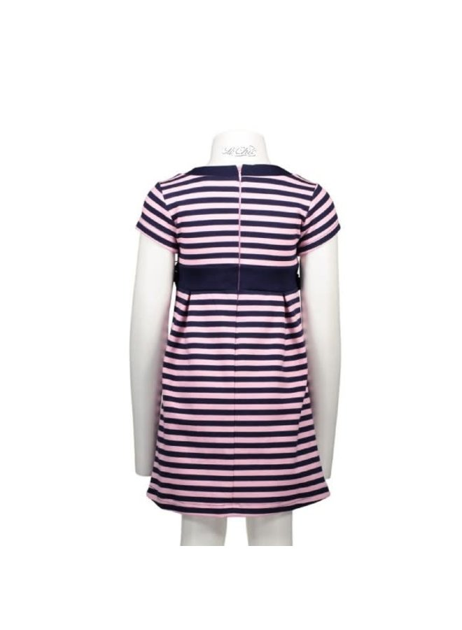 Jurk Stripe Pink/Marine
