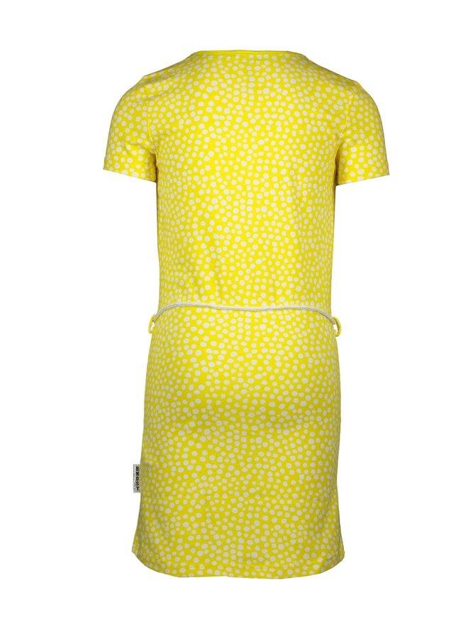 Jurk Dots Lemon