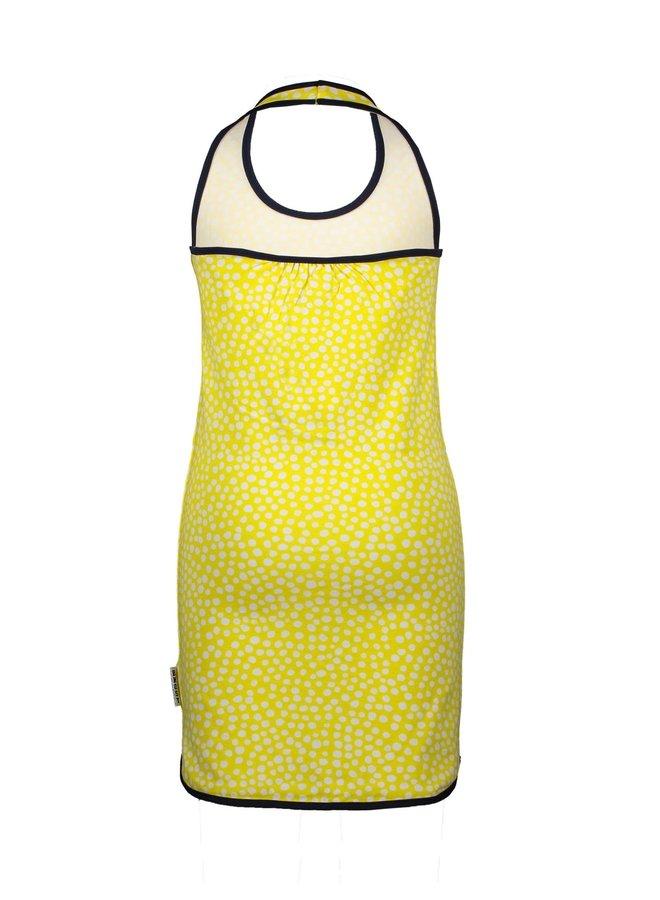 Dumbbell Jurk Dots Lemon