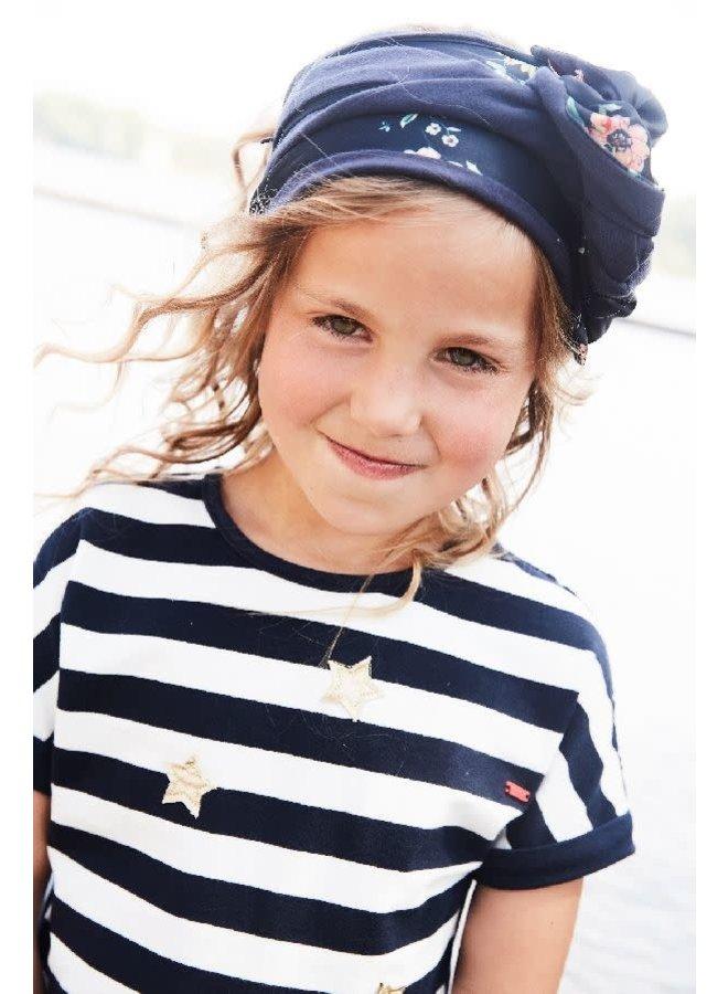 Kemsa Shirt Twistable Navy/Wit