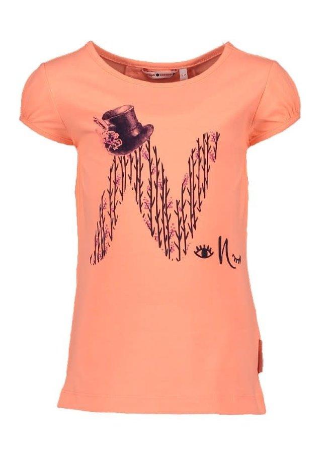 Shirt Kaa Neon Coraal