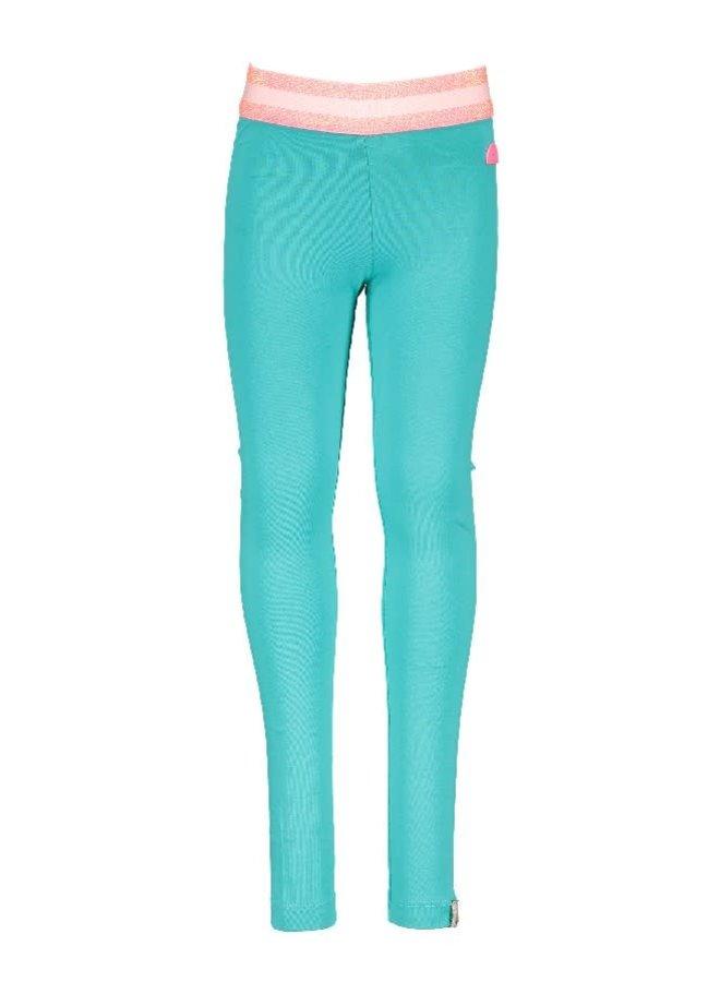 Legging Hot Turquoise