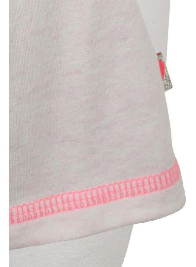 Jurk en legging licht roze melee