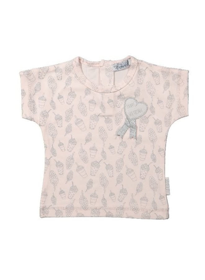 Ice Cream Shirt Roze