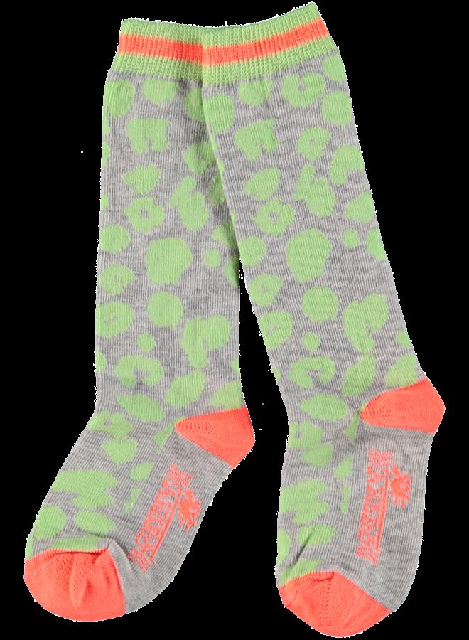 Kniekousen Binita grijs melee