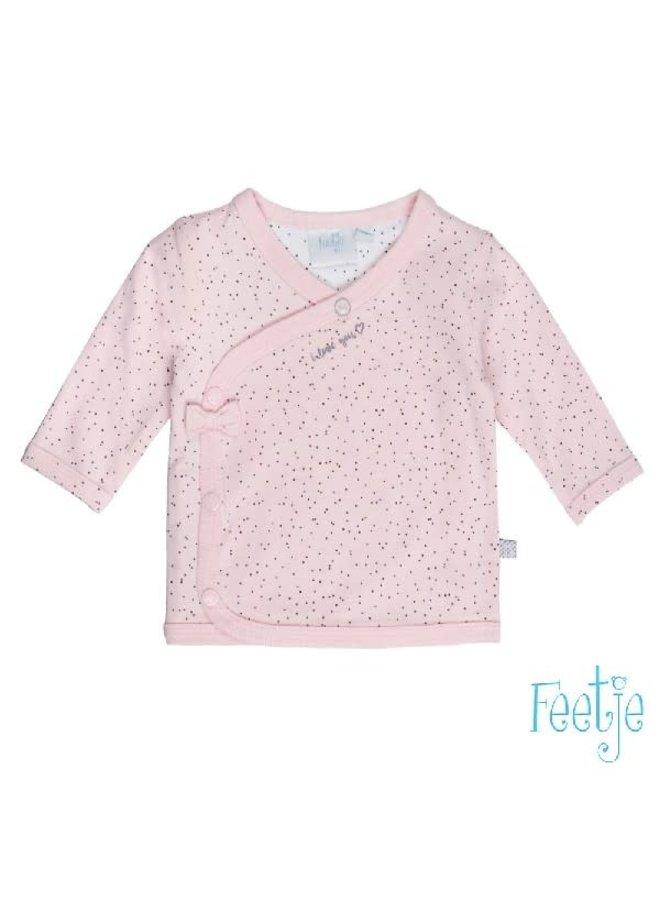 All of Me Overslag Shirt Roze
