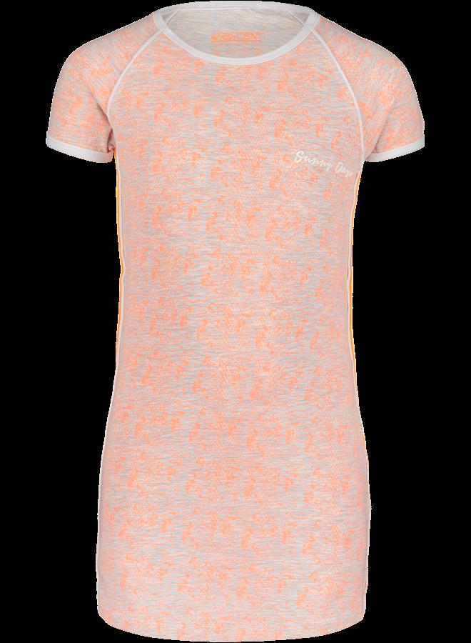 Jurk Nura Neon Oranje
