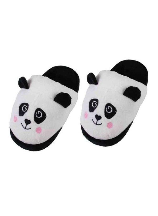 Panda Sloffen Zwart/Wit