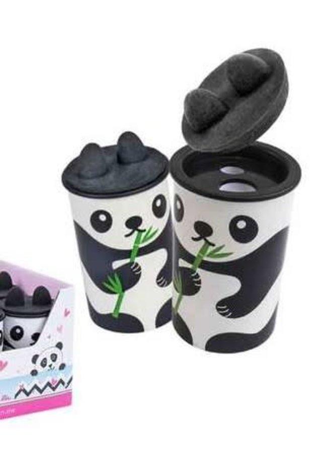 Panda Puntenslijper met gum