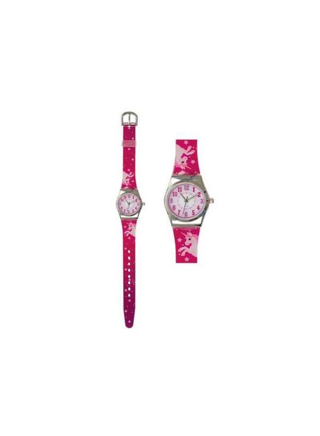 Horloge Eenhoorn Roze