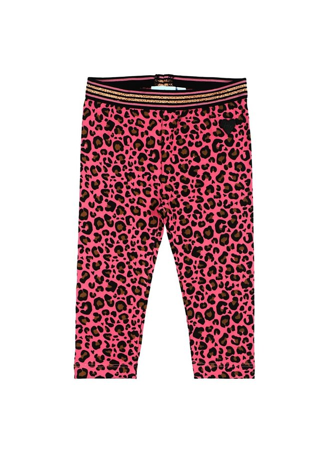 Animal Attitude Legging AOP Roze