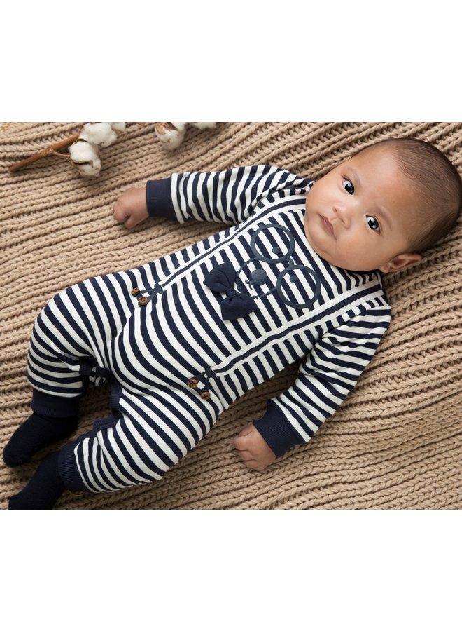 Babysuit Navy/Offwhite