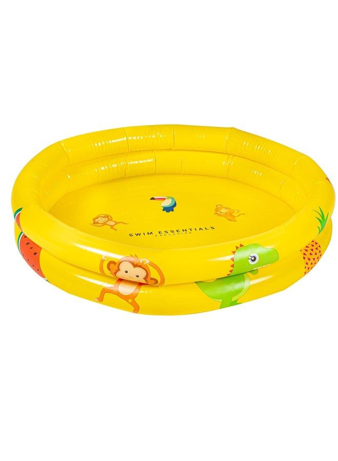 Geel baby zwembad Happy Animals