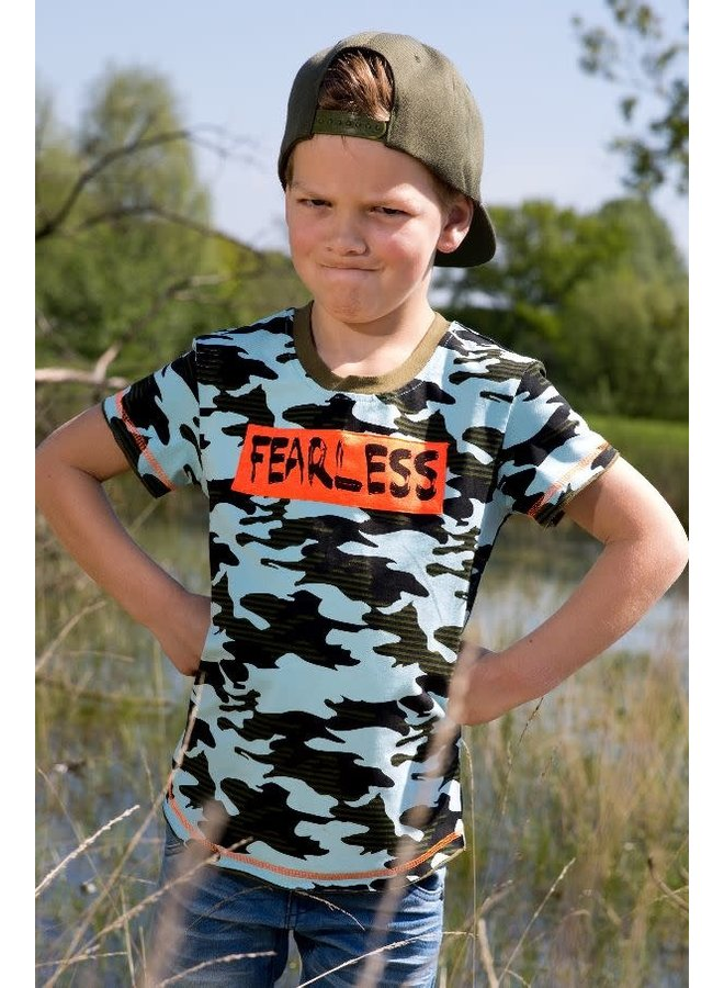 Shirt Fearless Camoflage