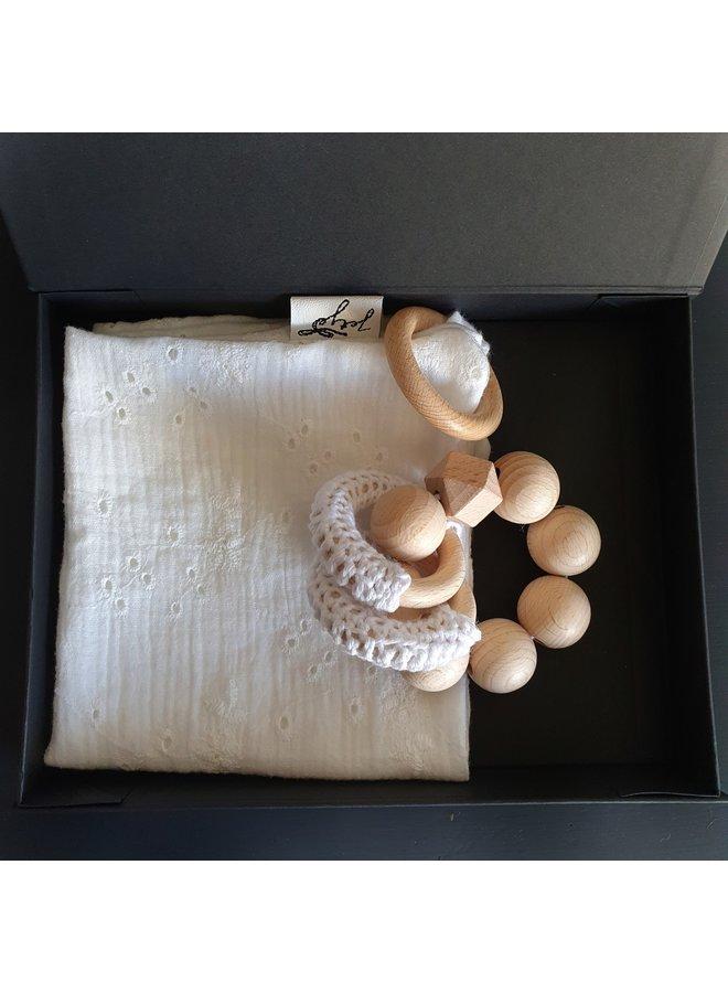 Cadeau Setje Offwhite in doos
