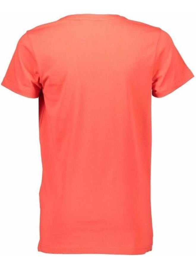 T-Shirt Rood AOP
