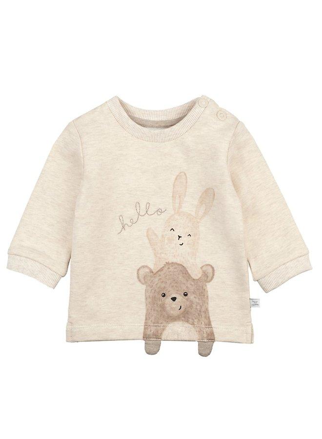 Happy Sweater Offwhite Melange