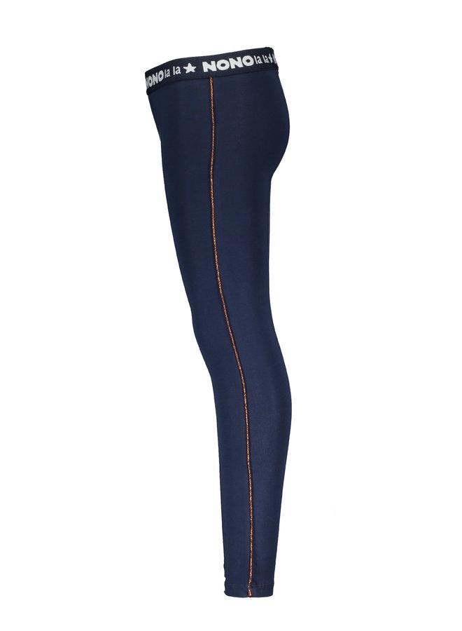 Legging Sole  piping Navy Blazer