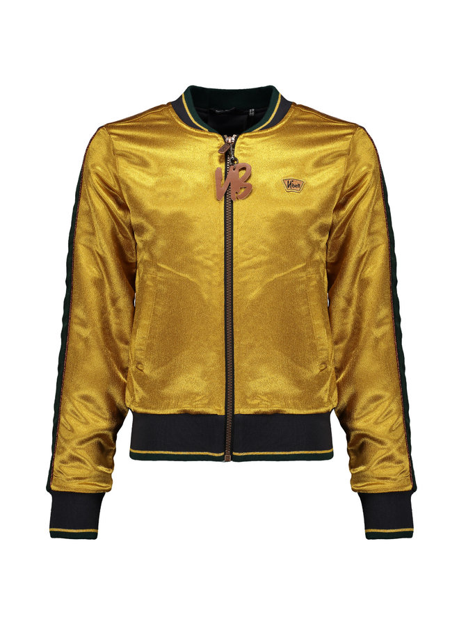 Donna Vest Intense Gold Satin