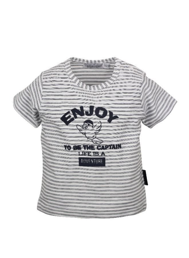 Adventure Shirt Enjoy Marine/Wit