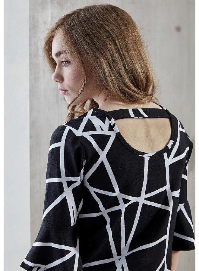 Shirt Zwart/Wit