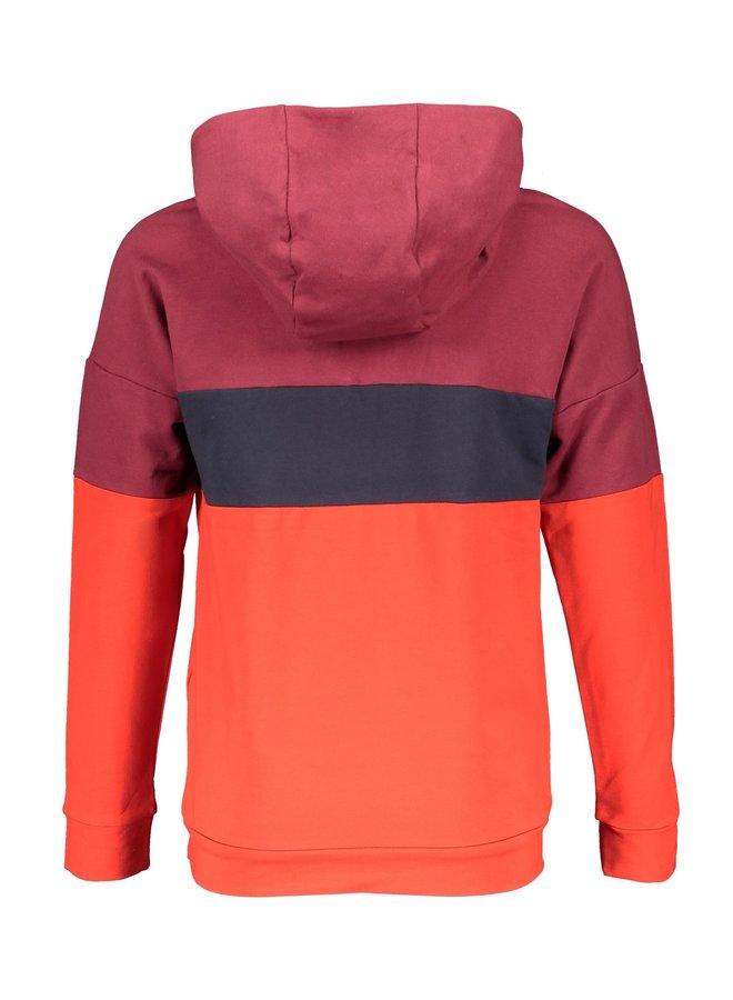 Kakoi Sweater Hooded Bordeaux
