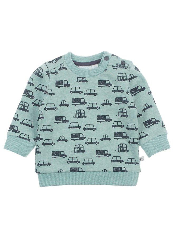 Cars Sweater Mint Melange