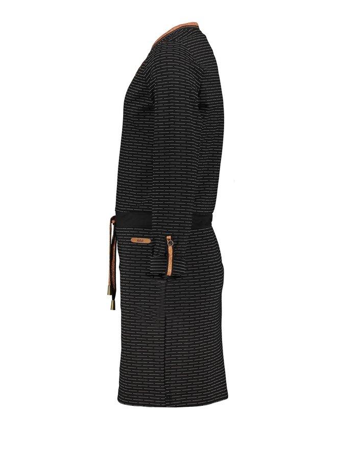 Jurk Manou Fancy Pinstripe