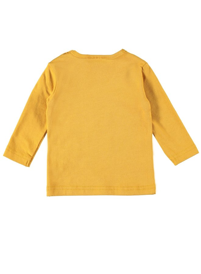 Free Hugs Shirt Brandon Oker Geel