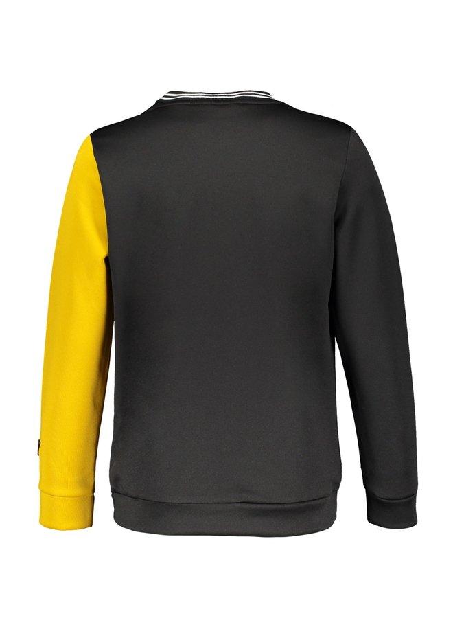 Koen Round Sweater Jet Black