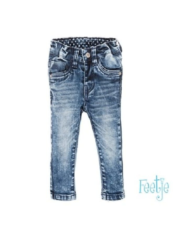 Broek Denim Slim Fit Power Streched Blue