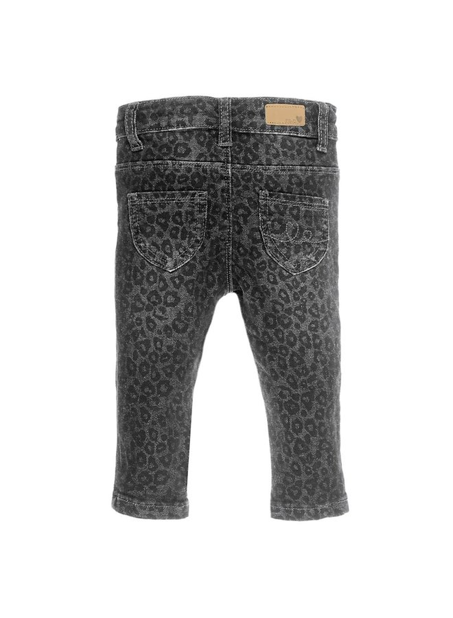 Denim Slim Fit  Antraciet