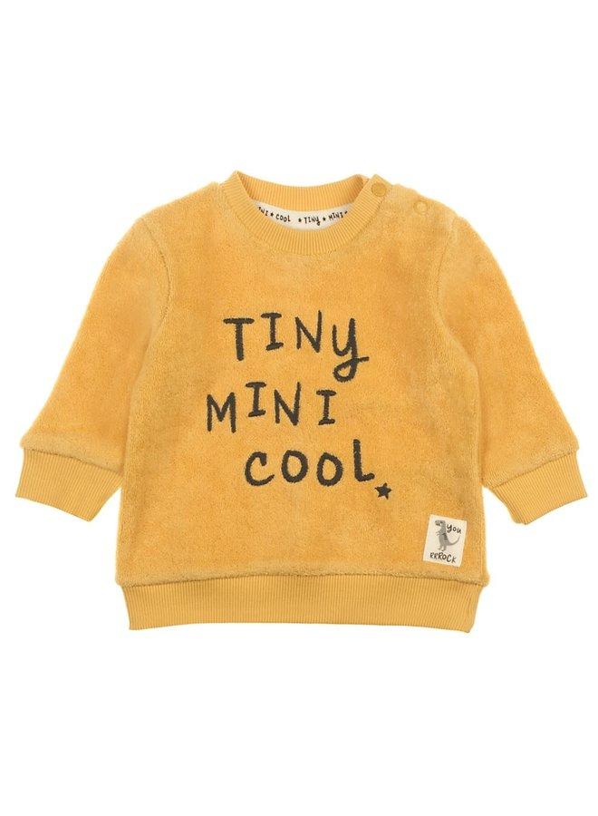 Dino Sweater Tiny  Mini Cool Geel