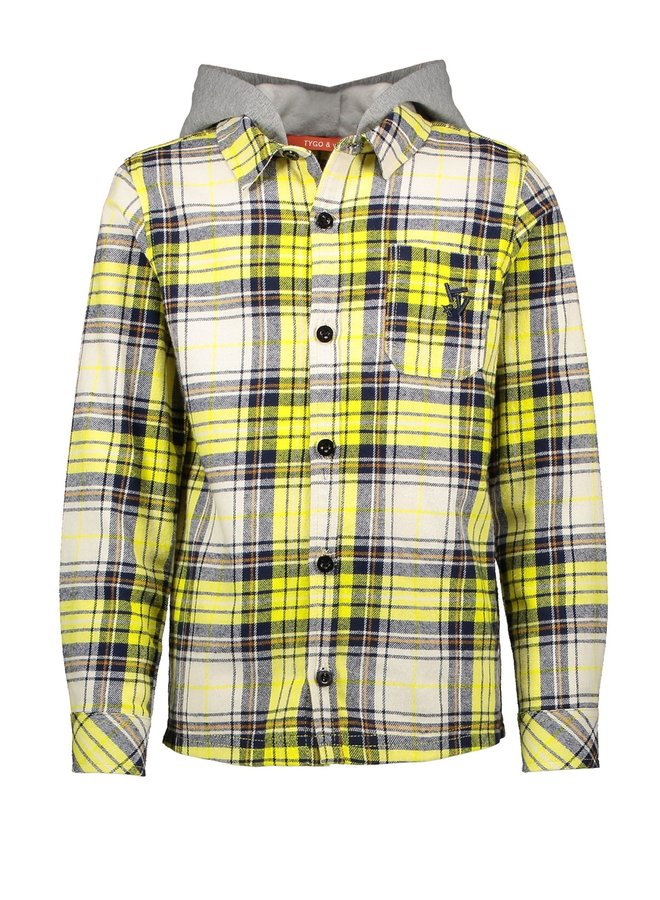 Hoody Ruit Safety Yellow