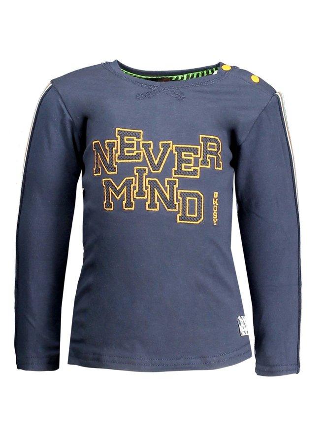 Shirt Never Mind Oxford Blue
